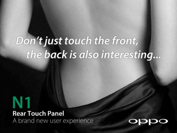 OPPO N1 Touch Panel