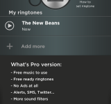 Discover and create ringtones with Ringtonium