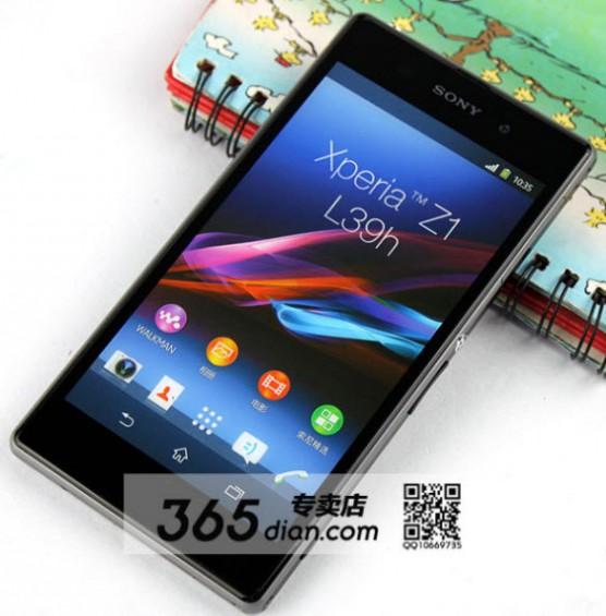 Sony Z1 Front