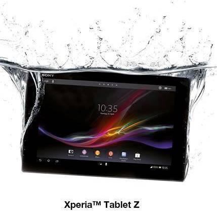 Tablet z splash