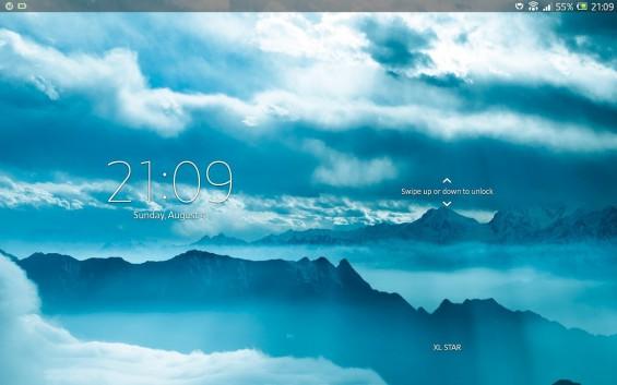Xperia Tablet Z SGP321 Android 4.2.2 screenshot 1