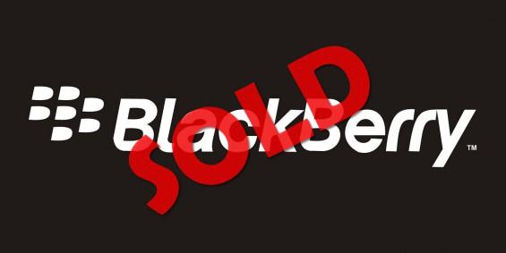 Blackberry Logo sold