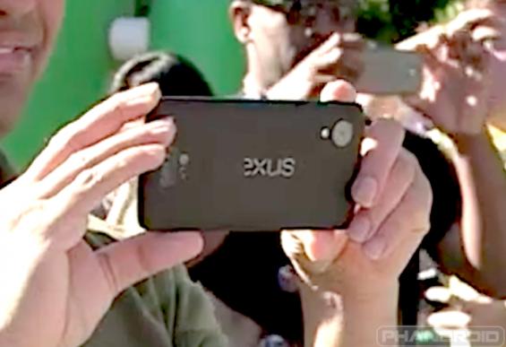 Nexus 5 extreme closeup