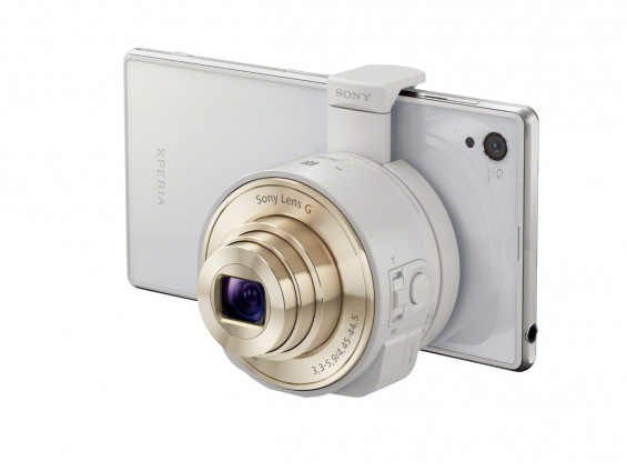 QX10 White with Xperia i1 1 1200