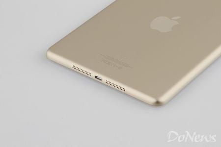 iPad Mini 2 gold back