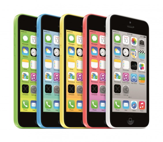 iPhone5c 34L AllColors PRINT