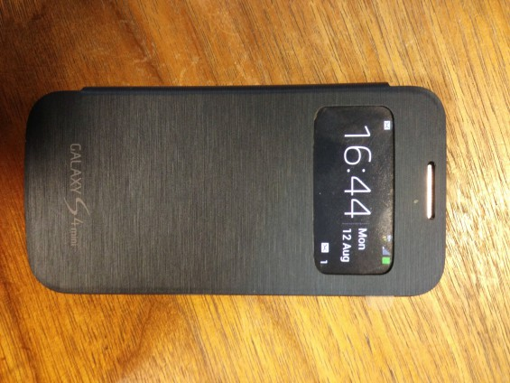 s 4 mini with s view cover