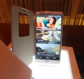 Hands on with the LG G2 at the UK launch party