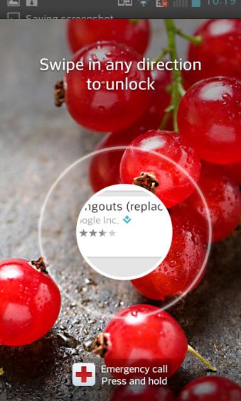 LG L7 Lockscreen Opening