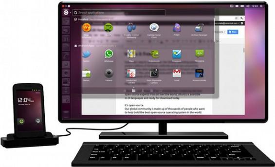 ubuntu for android big2