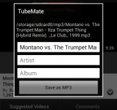 TubeMate   Downloading YouTube videos on your Android