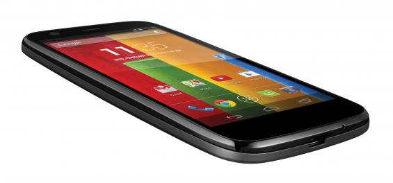 Moto G Front screen black