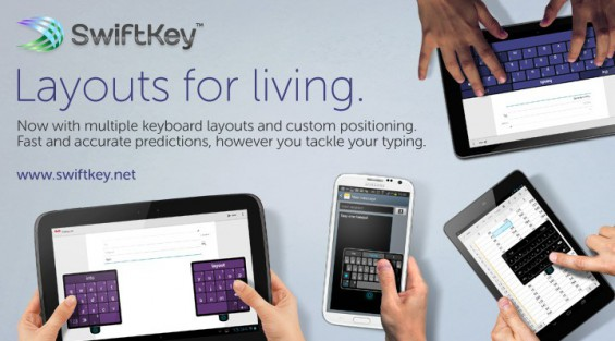 swiftkey layouts for living