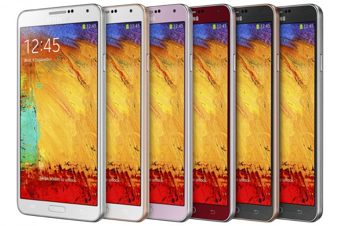 Galaxy Note 3 color options (1)