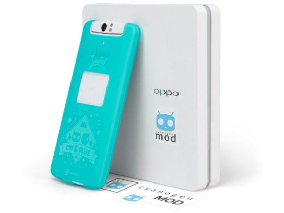 oppo n1 cm edition with box