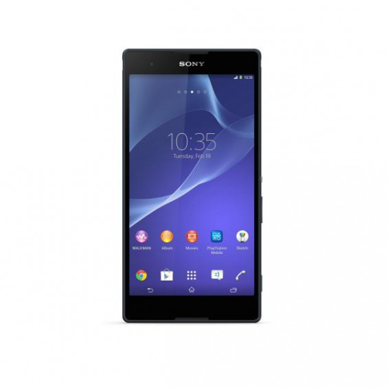 02 Xperia T2 Ultra Black Front.jpg low