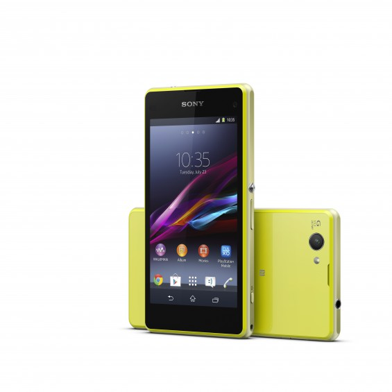 13 Xperia Z1 Compact Lime Group