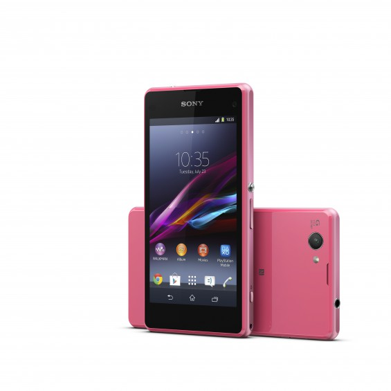 14 Xperia Z1 Compact Pink Group