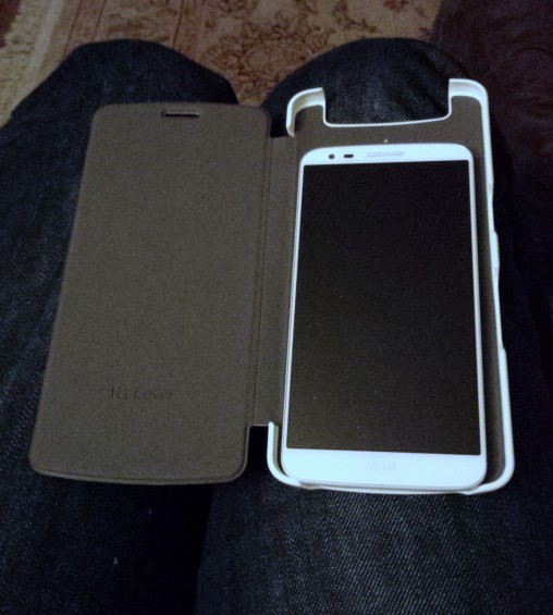 N1 Case with LG G2 in