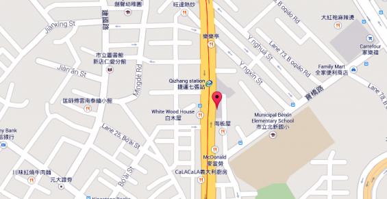 HTC Headquarters Road Map