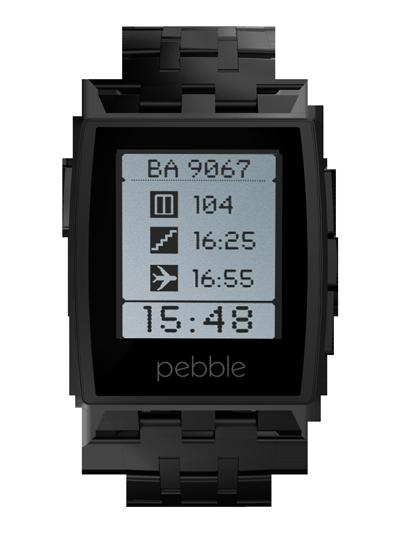 pebble steel black