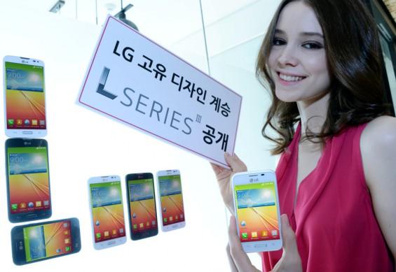 LG L Series III girl
