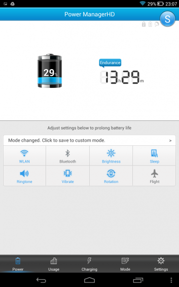 Lenovo Yoga 8  Battery Manager Screenshot 2014 02 27 23 07 16