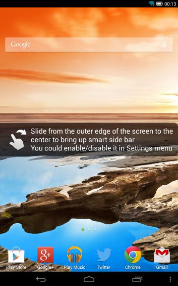 Lenovo Yoga 8 Quick Launch Instructions Screenshot