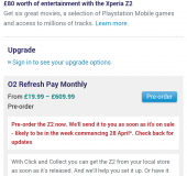 O2 taking Pre Orders for S5 and Sony Z2