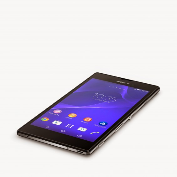 2 Xperia T3 Black Tabletop