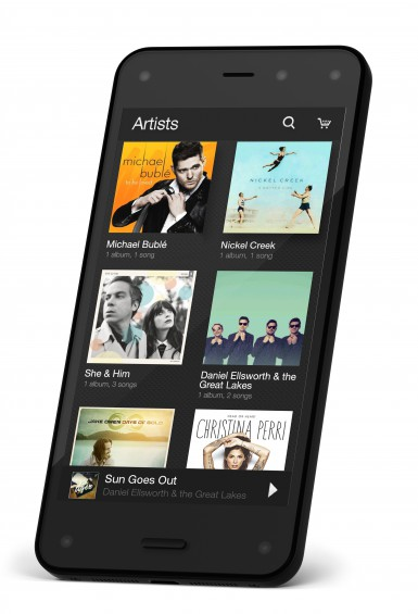 FirePhone D Right Music Library