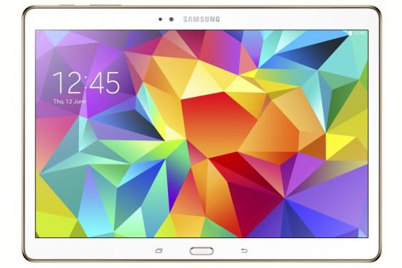 Galaxy Tab S 10.5 inch Dazzling White 1