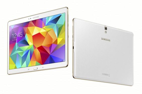 Galaxy Tab S 10.5 inch Dazzling White 12