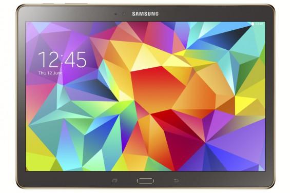 Galaxy Tab S 10.5 inch Titanium Bronze 1