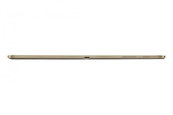 Galaxy Tab S 10.5 inch Titanium Bronze 10 top side