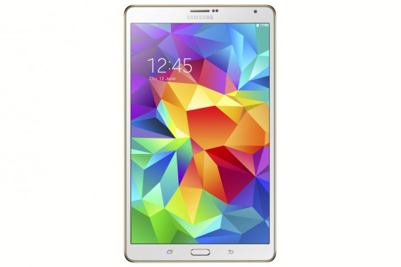 Galaxy Tab S 8.4 inch Dazzling White 1