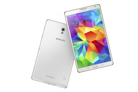 Galaxy Tab S 8.4 inch Dazzling White 12