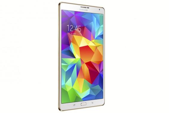 Galaxy Tab S 8.4 inch Dazzling White 3