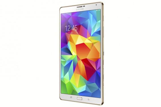 Galaxy Tab S 8.4 inch Dazzling White 4