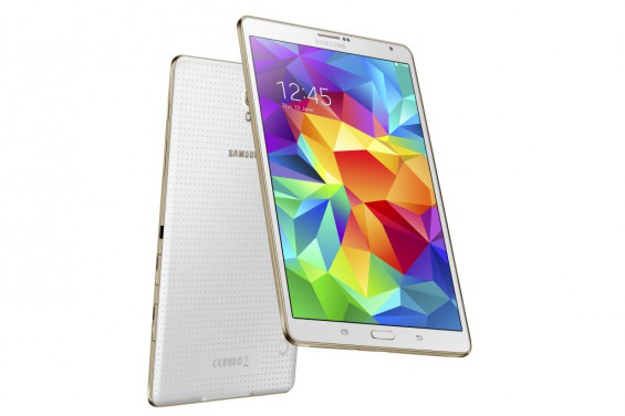 Galaxy Tab S 8.4 inch Dazzling White 6