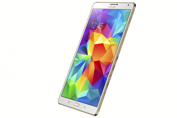 Galaxy Tab S 8.4 inch Dazzling White 9