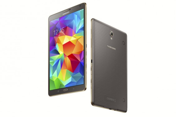 Galaxy Tab S 8.4 inch Titanium Bronze 10