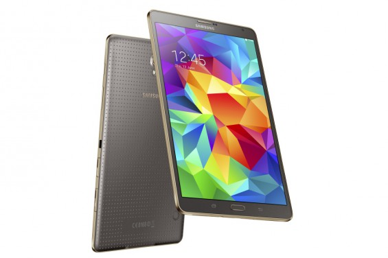 Galaxy Tab S 8.4 inch Titanium Bronze 6