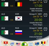Catch all the matches with World Cup Scheduler
