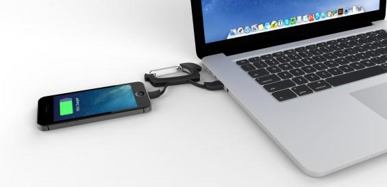 NomadClip Lightning MacBook