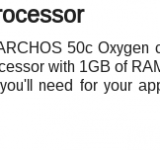 Want a cheap smartphone? How about an Archos 50c