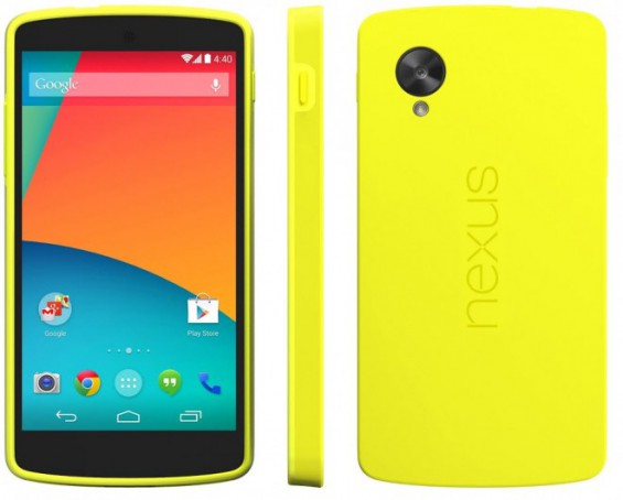 nexus 5 yellow1 660x530