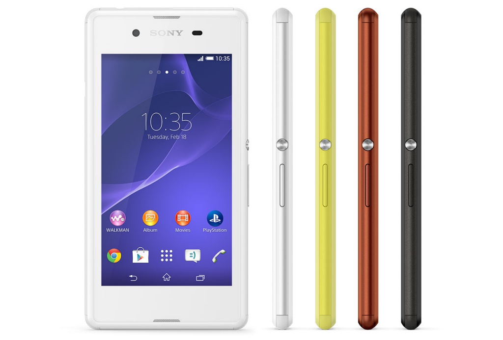 Sony announce the Xperia E3