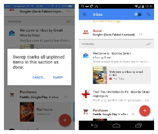 inbox ios and android