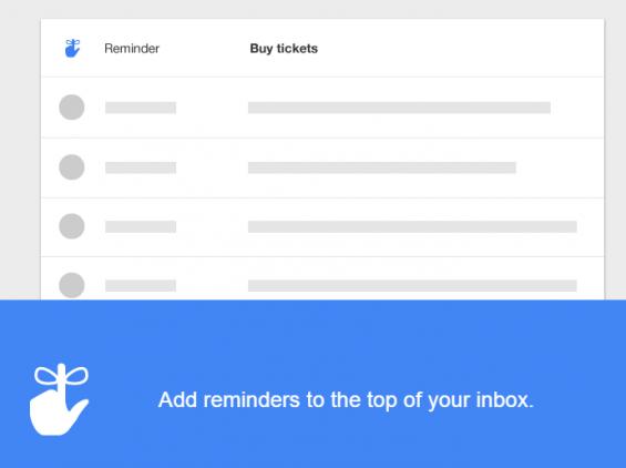 inbox reminders